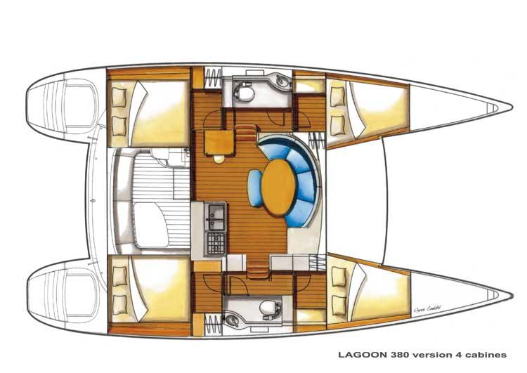 Lagoon 380 plan