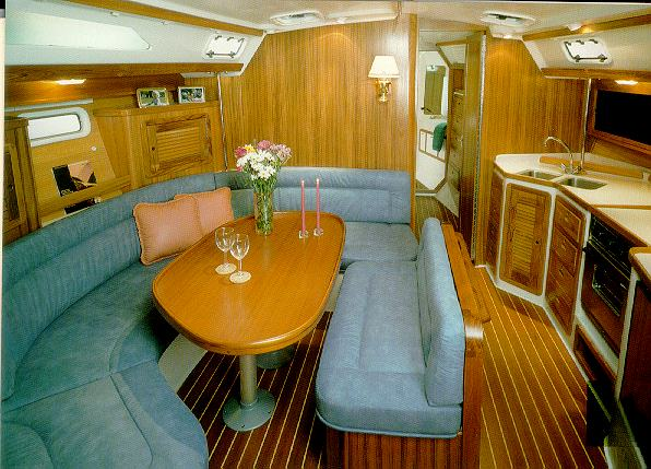 Catalina 42 interior
