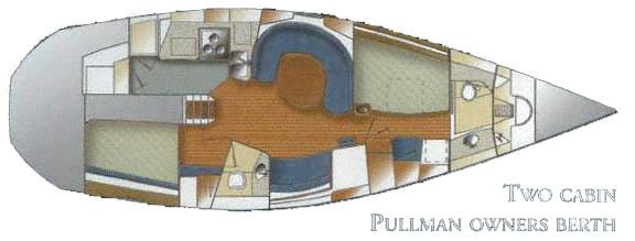 Catalina 42 layout