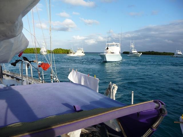 Culebra anchorage
