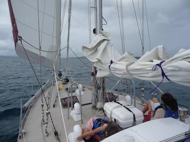 Sailing off Culebra