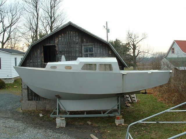Small steel boat