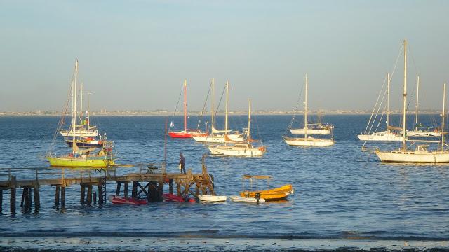 CVD anchorage at Dakar