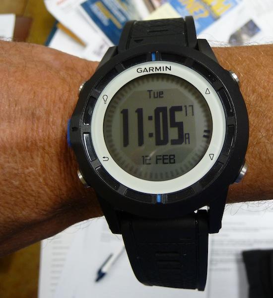 Garmin Quatix watch
