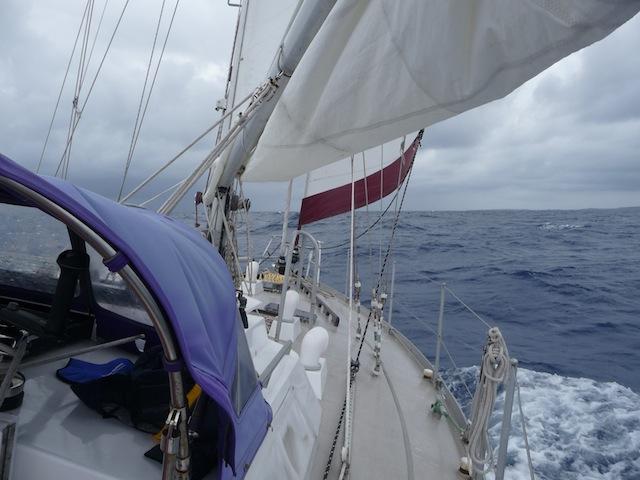 Under sail Lunacy