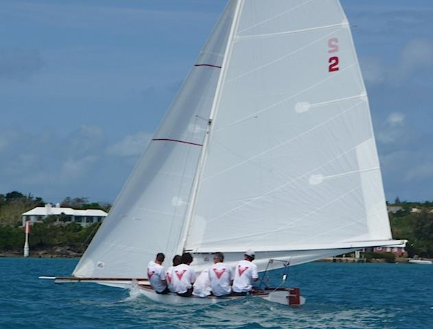 Bermuda dinghy Victory