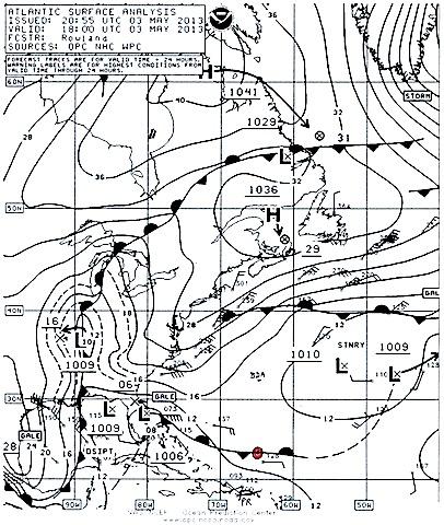 May 3/13 surface chart