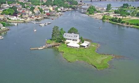 Round Island aerial