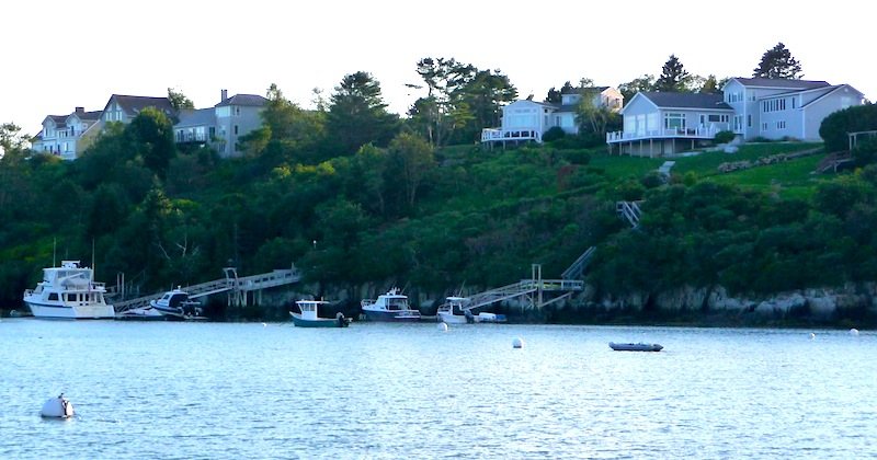 Water Cove houses