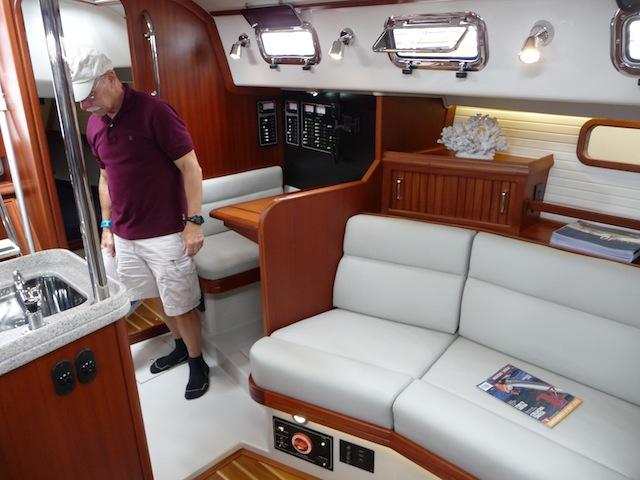 Bluejacket 40 interior