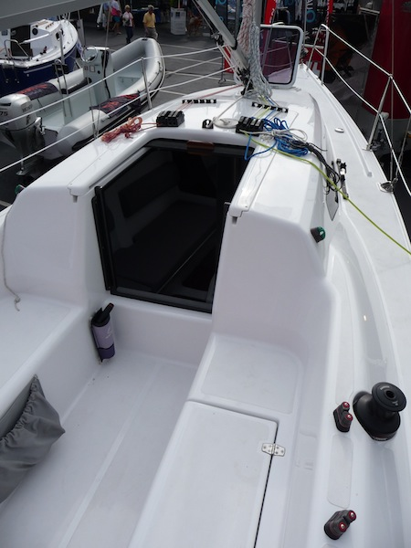 Far East 26 cockpit