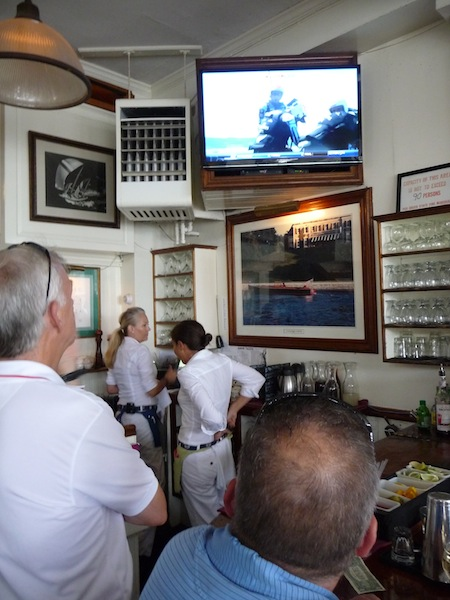 Cup watch in bar