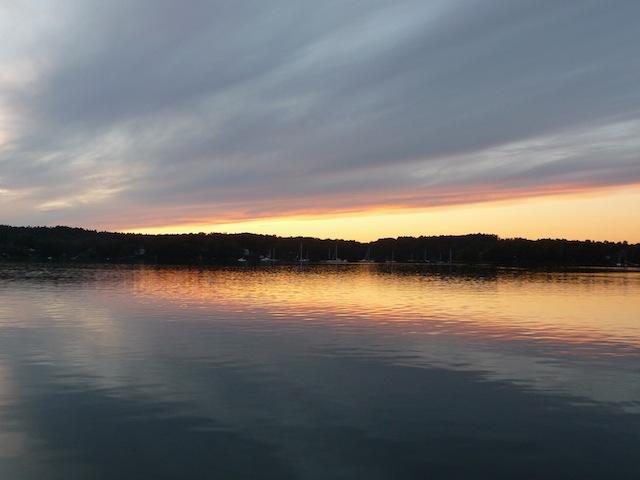 Quahog Bay sunset