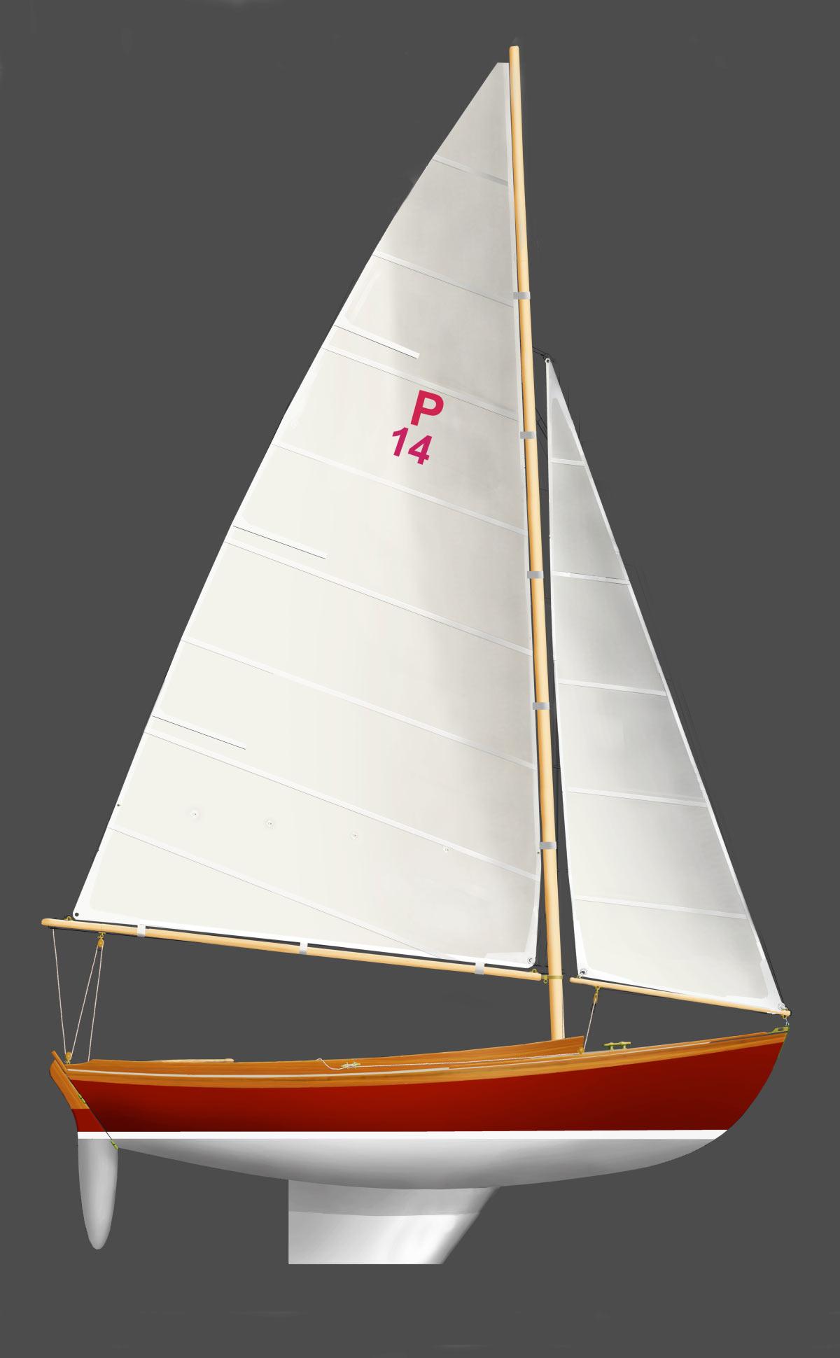 Paine 14 sailplan
