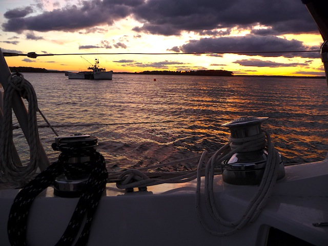 Caco Bay sunset