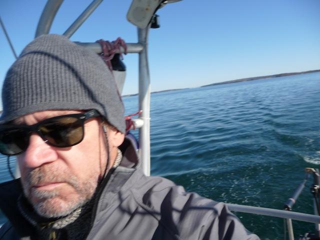 C. Doane on boat