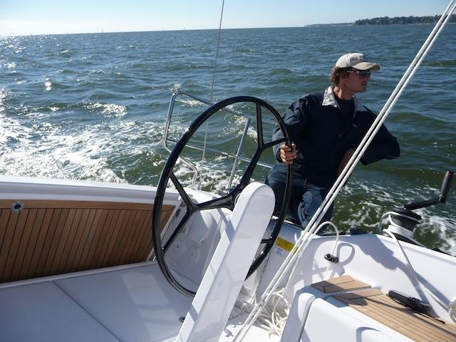 Steering a Dehler 38