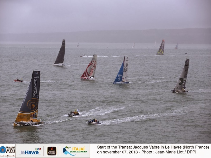 Transat Jacques Vabre start
