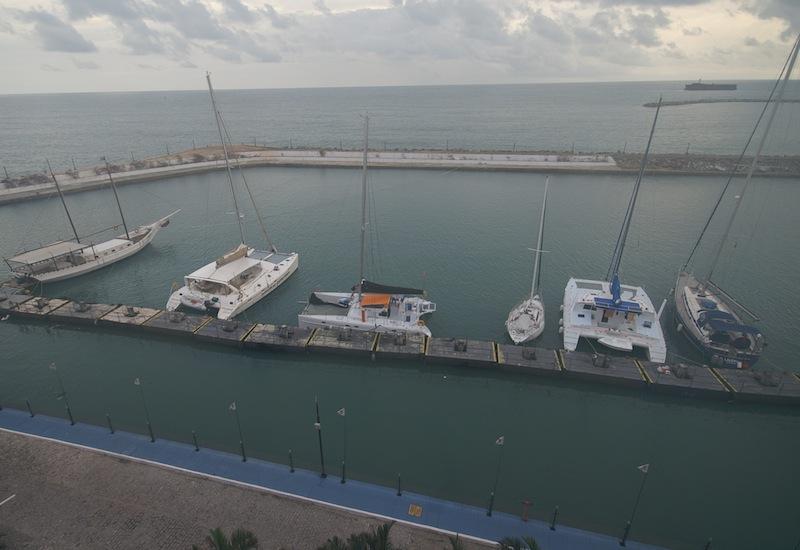 Marina Park Hotel docks