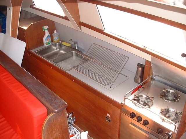Gemini galley