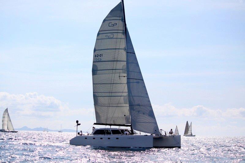 Trine under sail