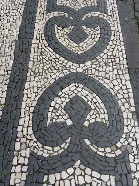 Azorean sidewalk