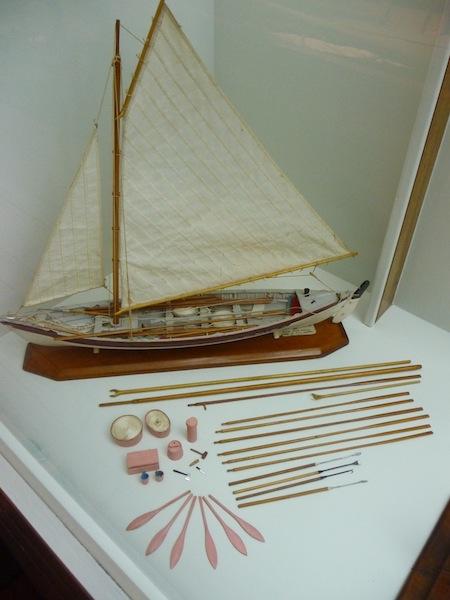 Whaleboat model