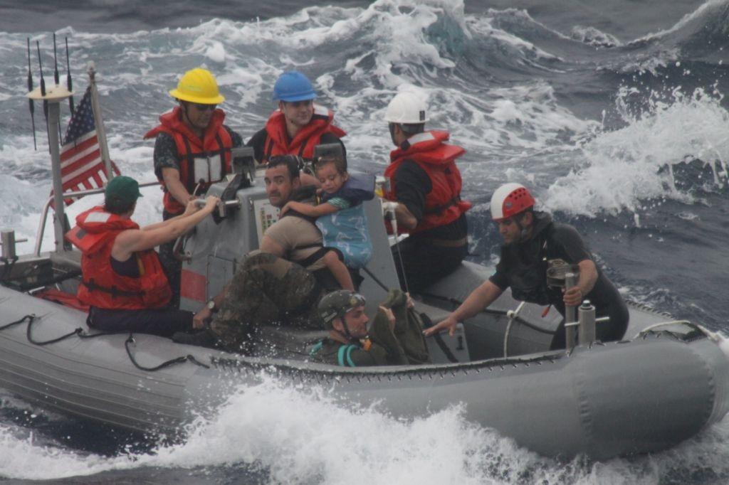 Vandegrift boat crew