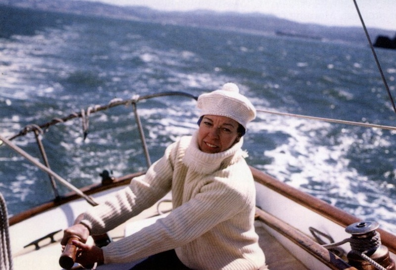 Mary Ann sailing