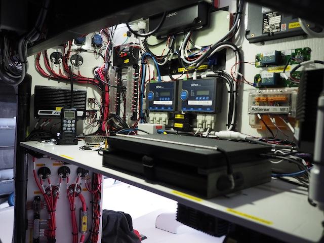 Nav panel wiring