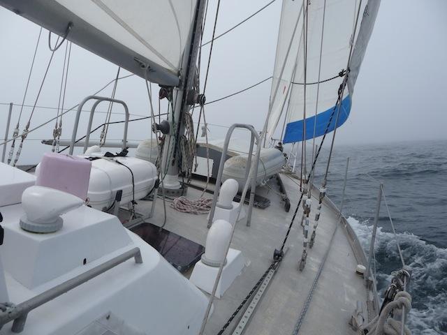 Fog sailing