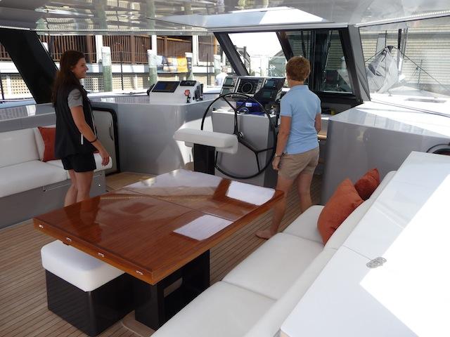 Gunboat 55 deck fwd