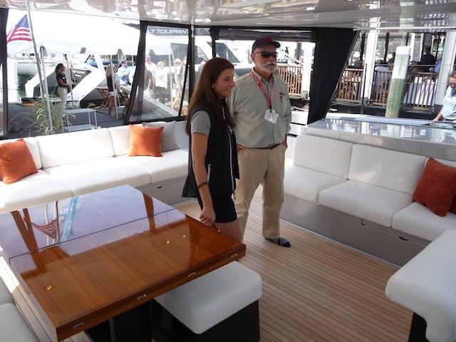 Gunboat 55 deck aft
