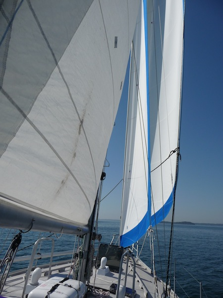 New headsails
