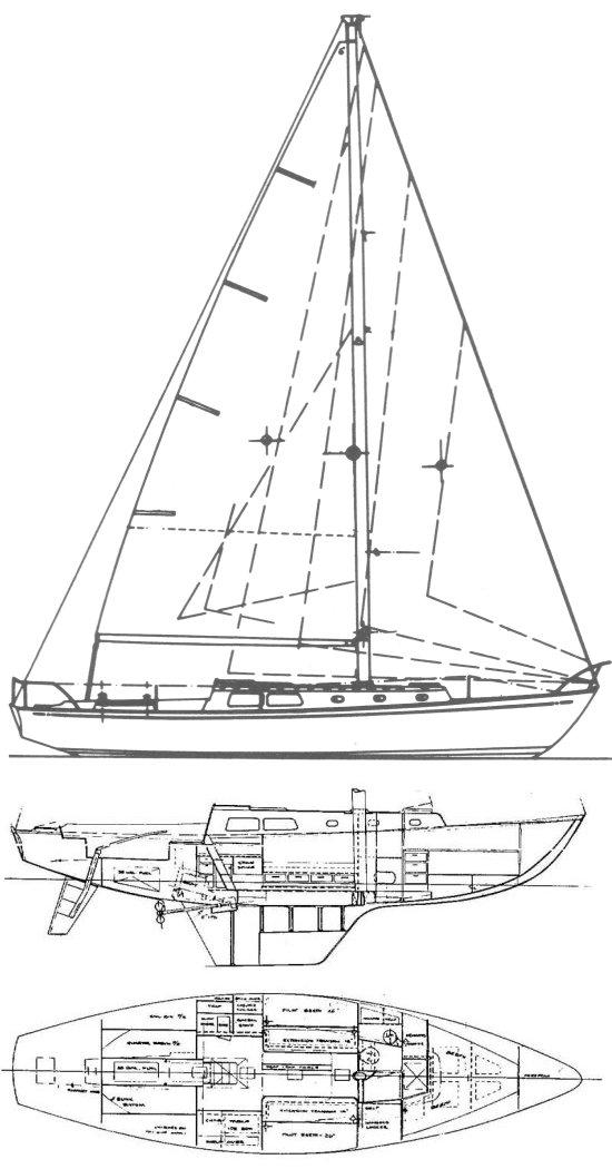 Cal 40 drawing