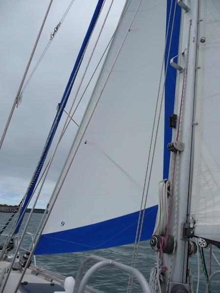 New staysail