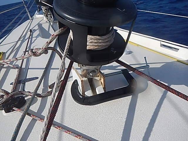 Staysail rig