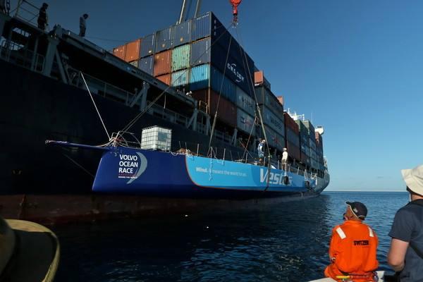 Vestas on ship