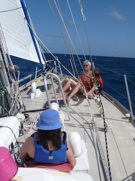 Sailing to windward