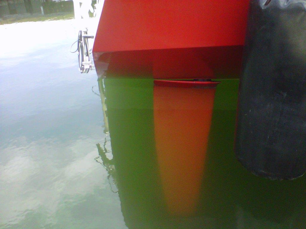 Kiwi Spirit rudder
