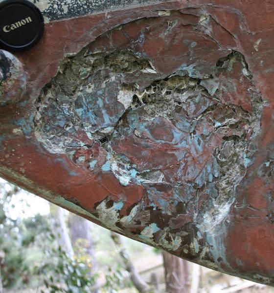 Ferro erosion