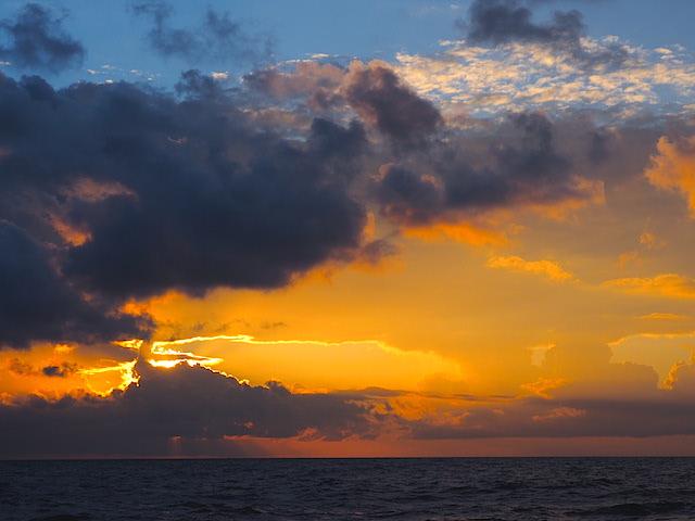 Sunrise squall