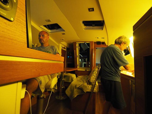 Cabin evening