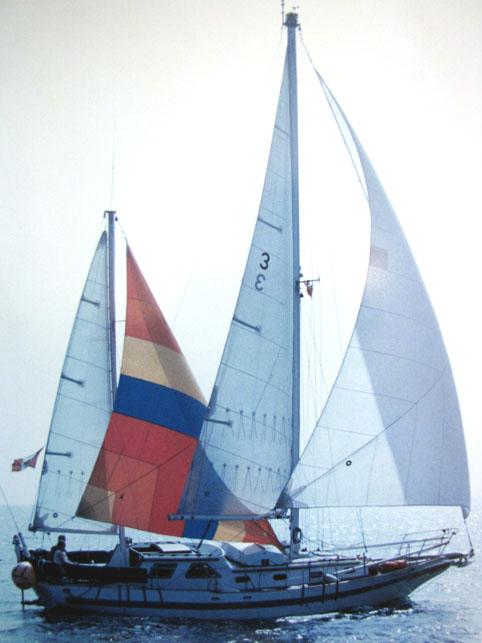 Mizzen staysail