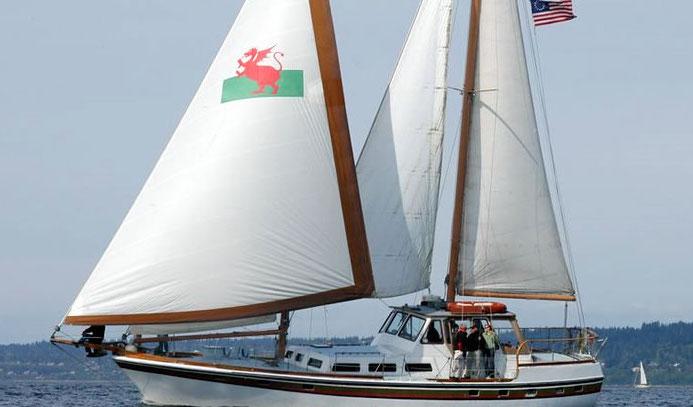 Modern schooner