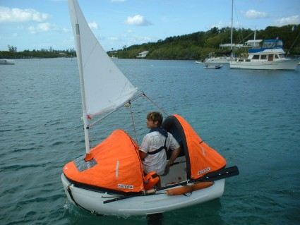 Pudgy sailing