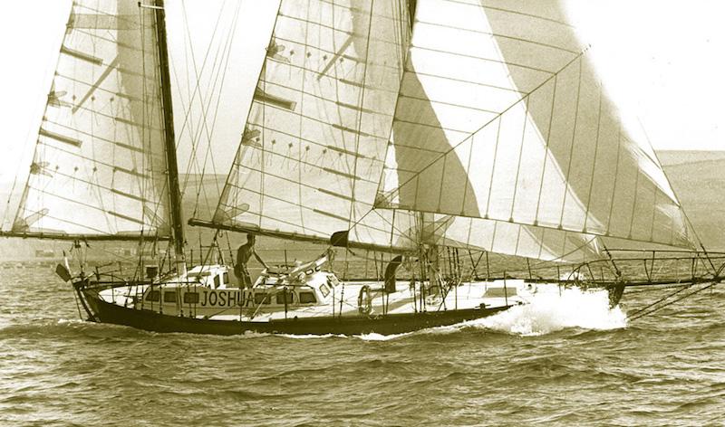Joshua sailing