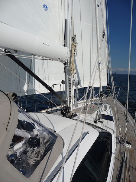 Oyster foredeck