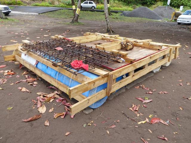 Mooring raft