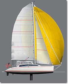 MC41 sailplan